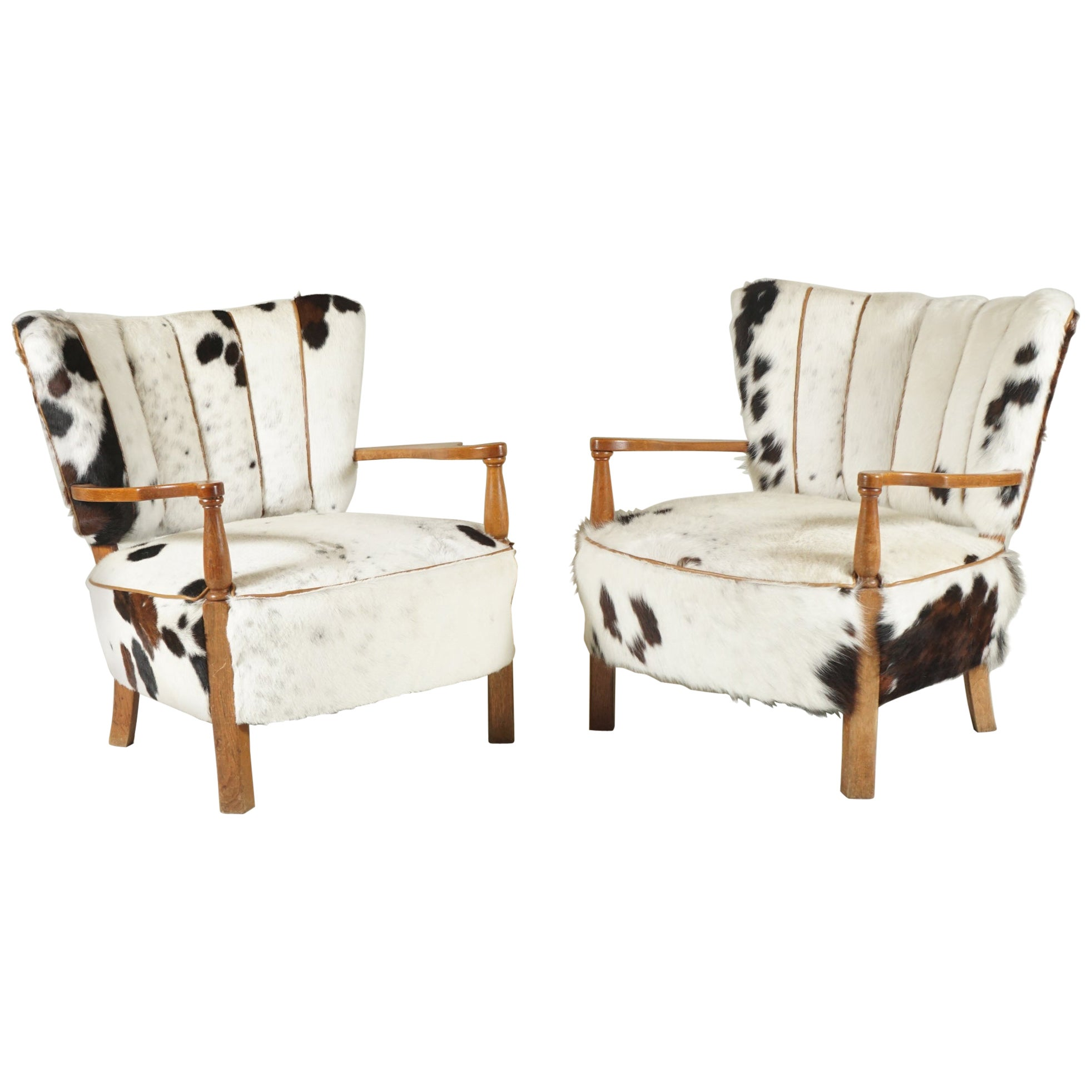 Pair of Easy Armchairs