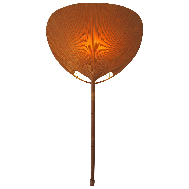 "Rare Extra Large ""Uchiwa"" Fan Wall Light by Ingo Maurer, circa 1970s"