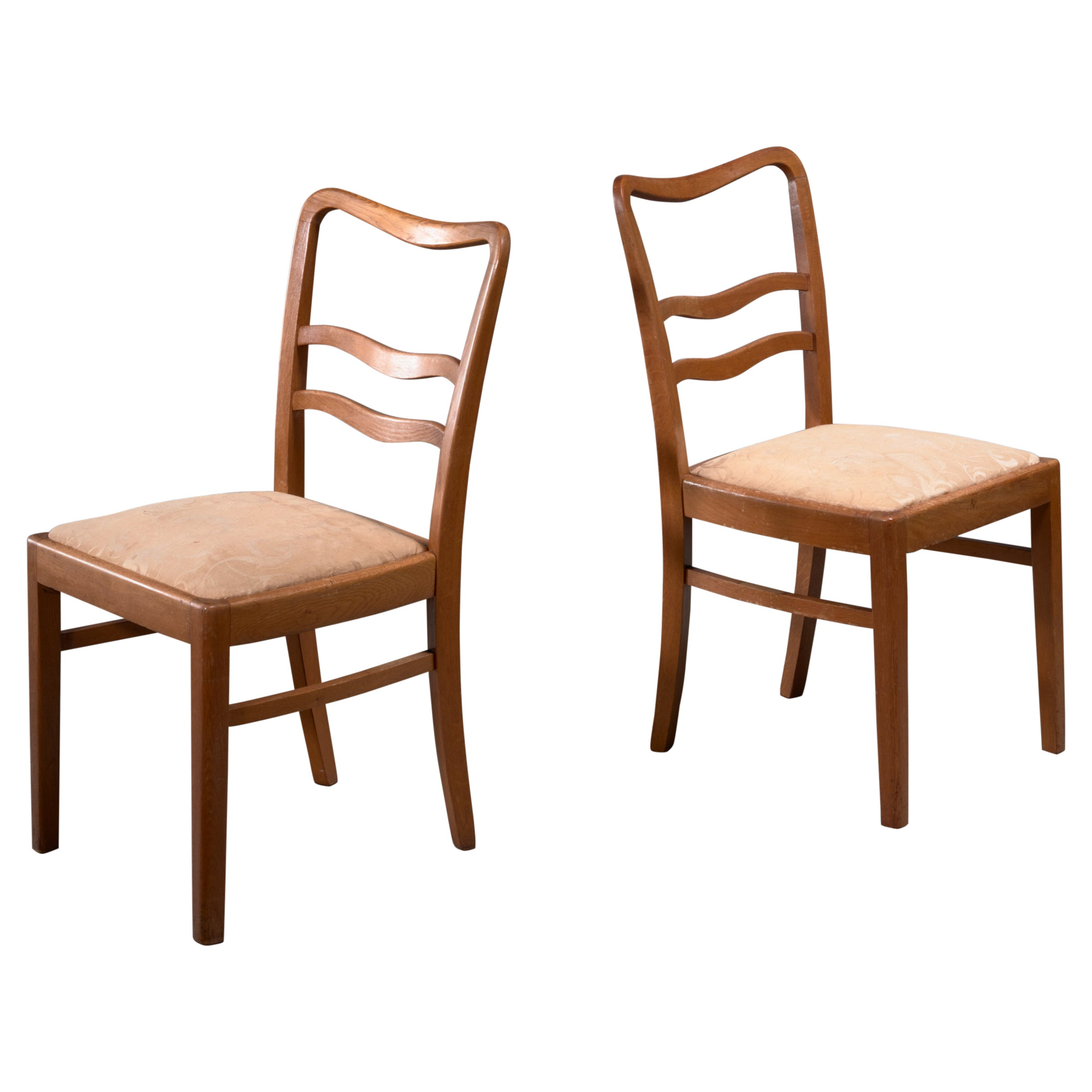 Pair of 1930s Side Chairs