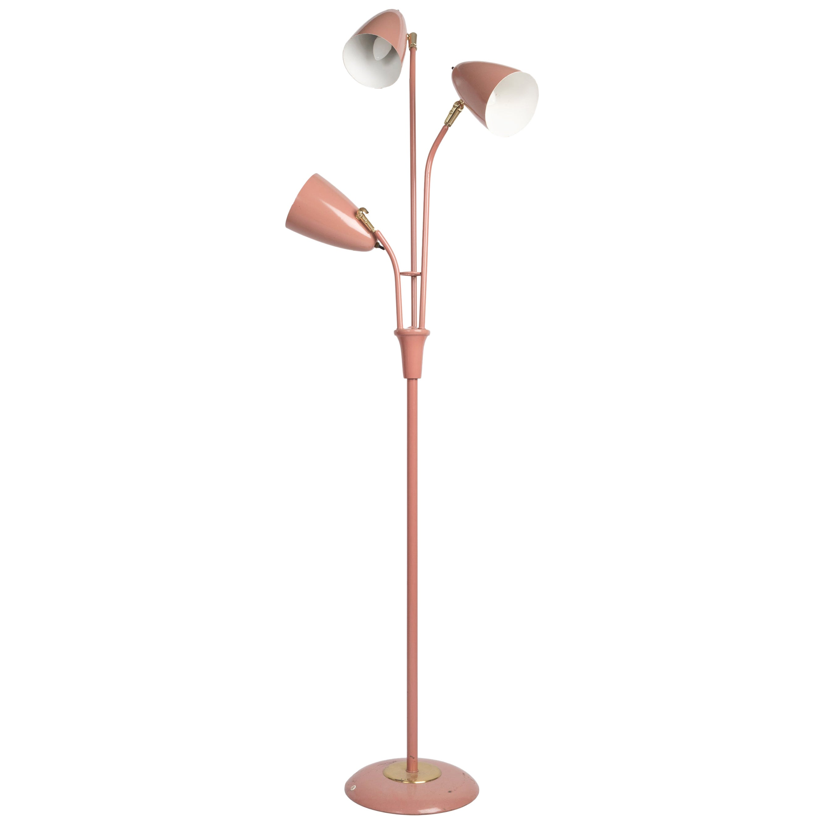 1950s Gerald Thurston Triennale Floor Lamp for Lightolier, USA