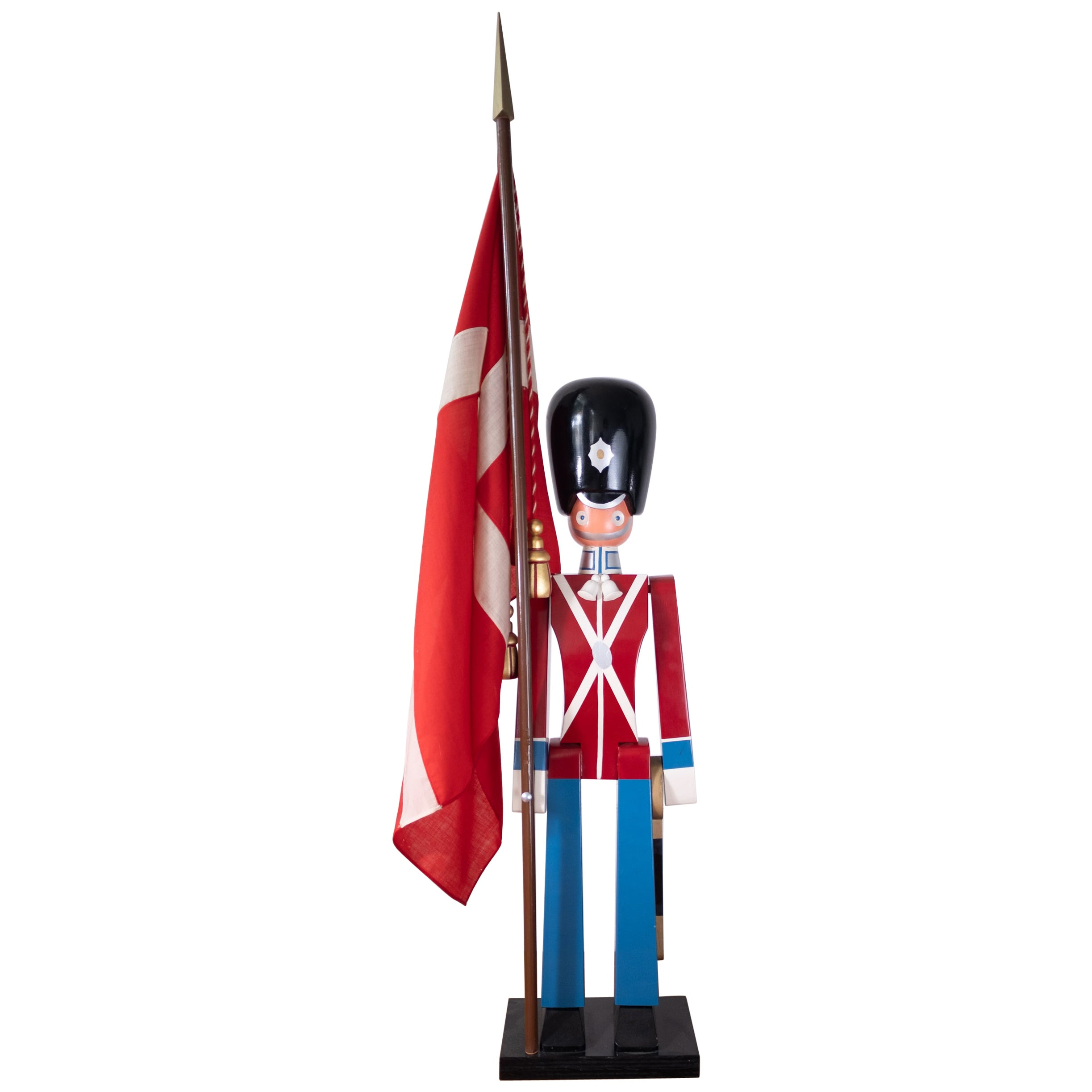 Huge Wooden Toy Soldier by Kay Bojesen