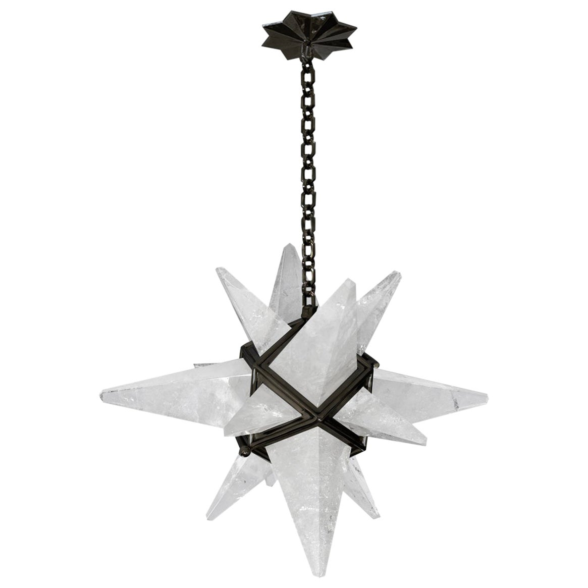 Star Rock Crystal Chandelier by Phoenix