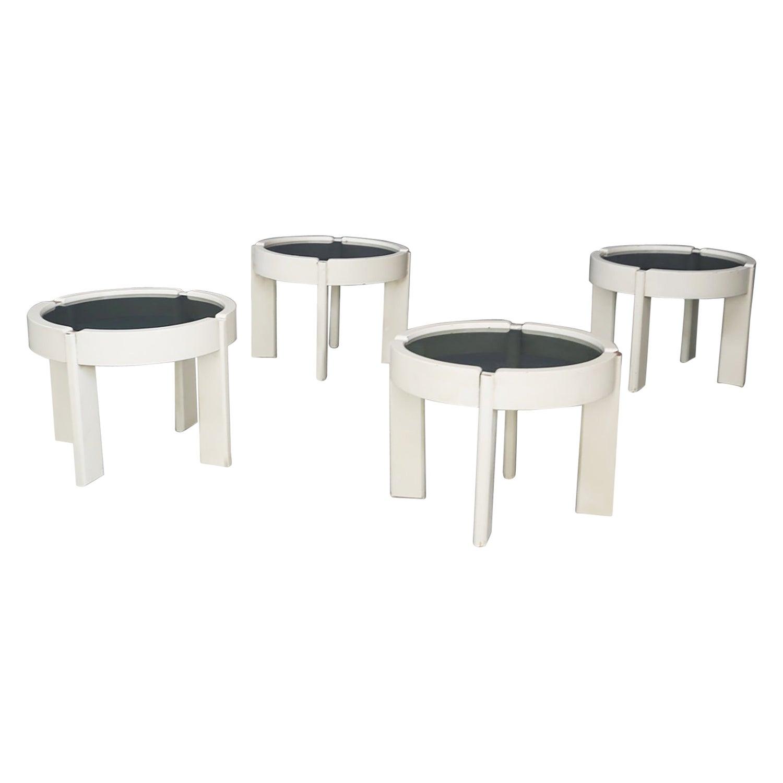 Coffee Tables Set by Gianfranco Frattini, 1950s