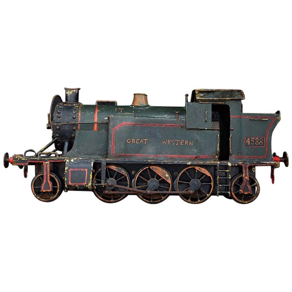 English Early 20th Century Amazing Scratch Built Locomotive