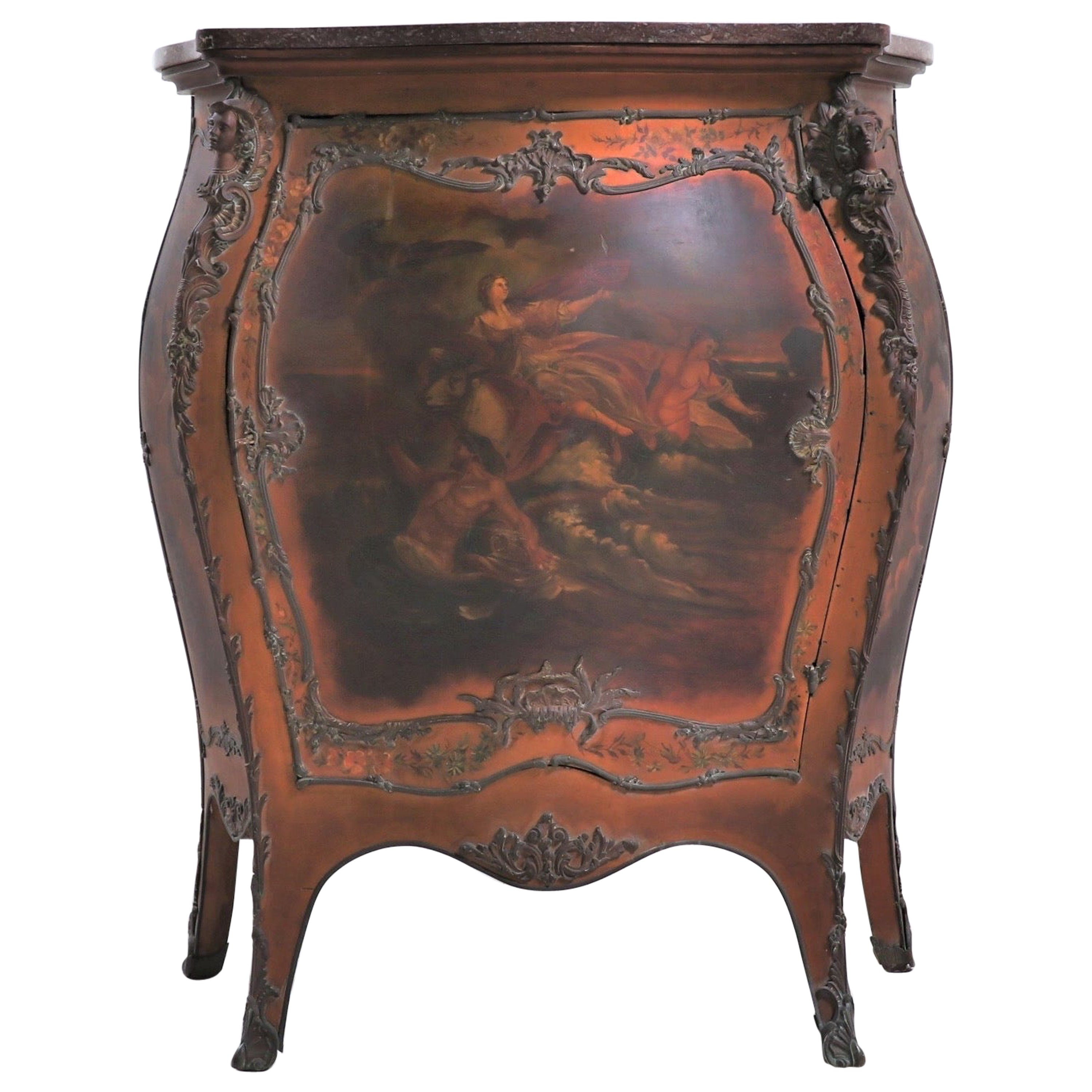 French 19th Century Louis XV-Style Bombay Chest