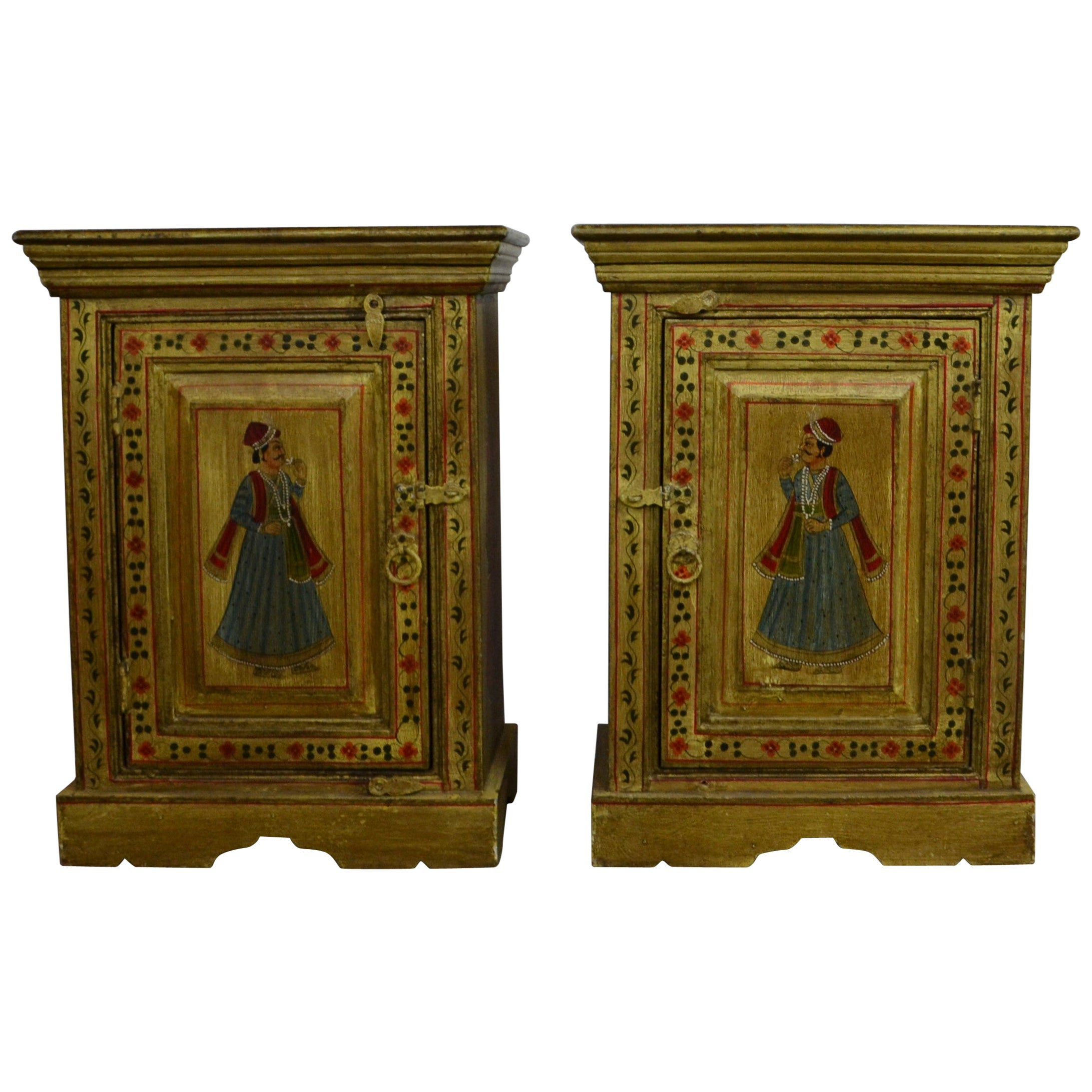 Pair of Indian Cabinet