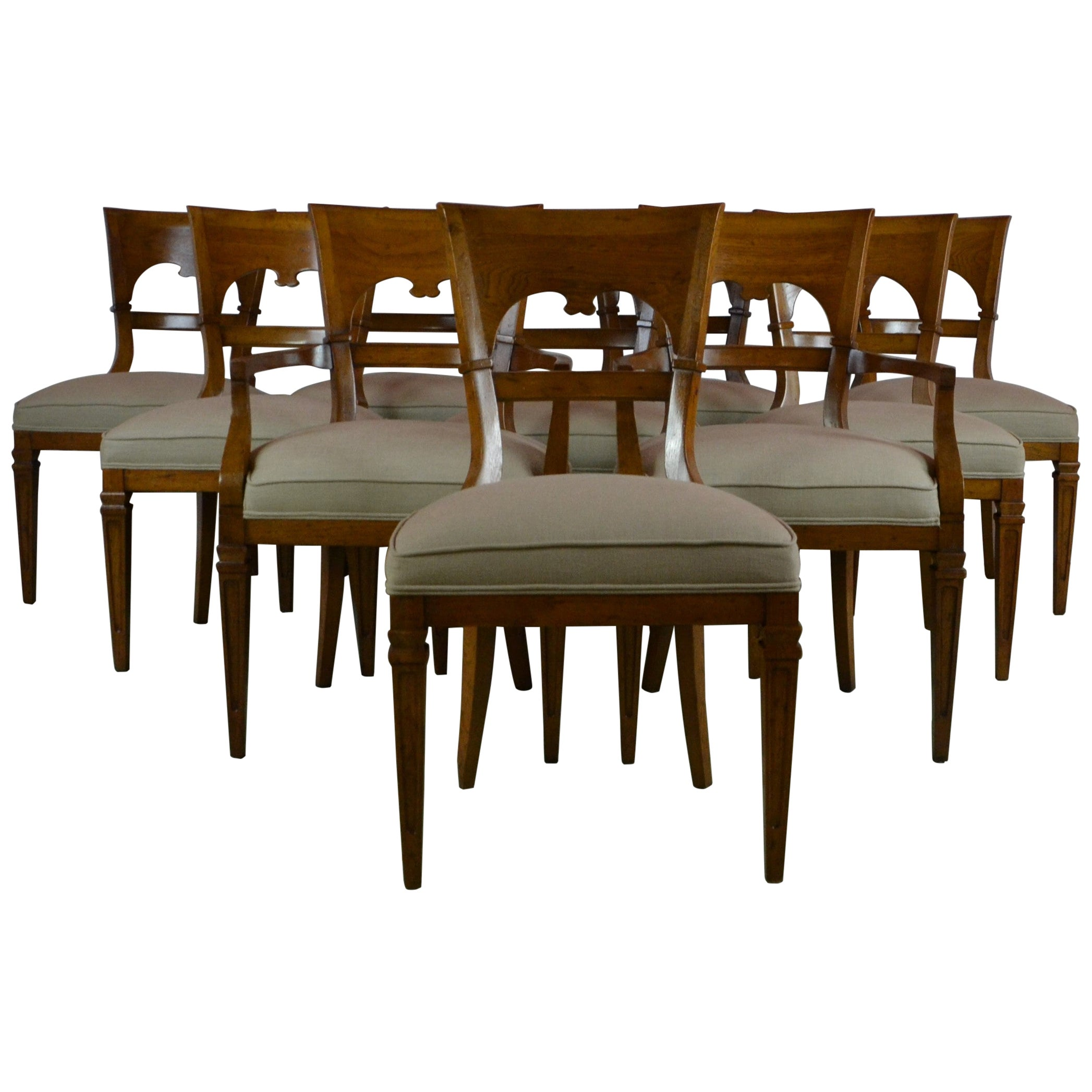 Set 10 Dining Chairs