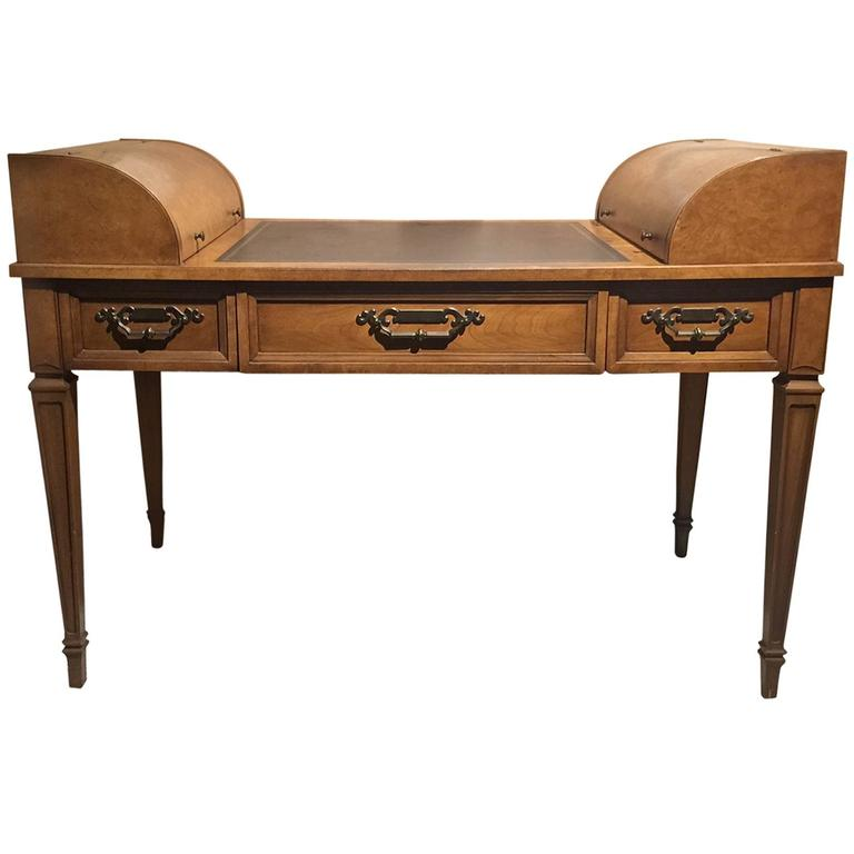 High Style George Washington Double End Desk By Drexel For