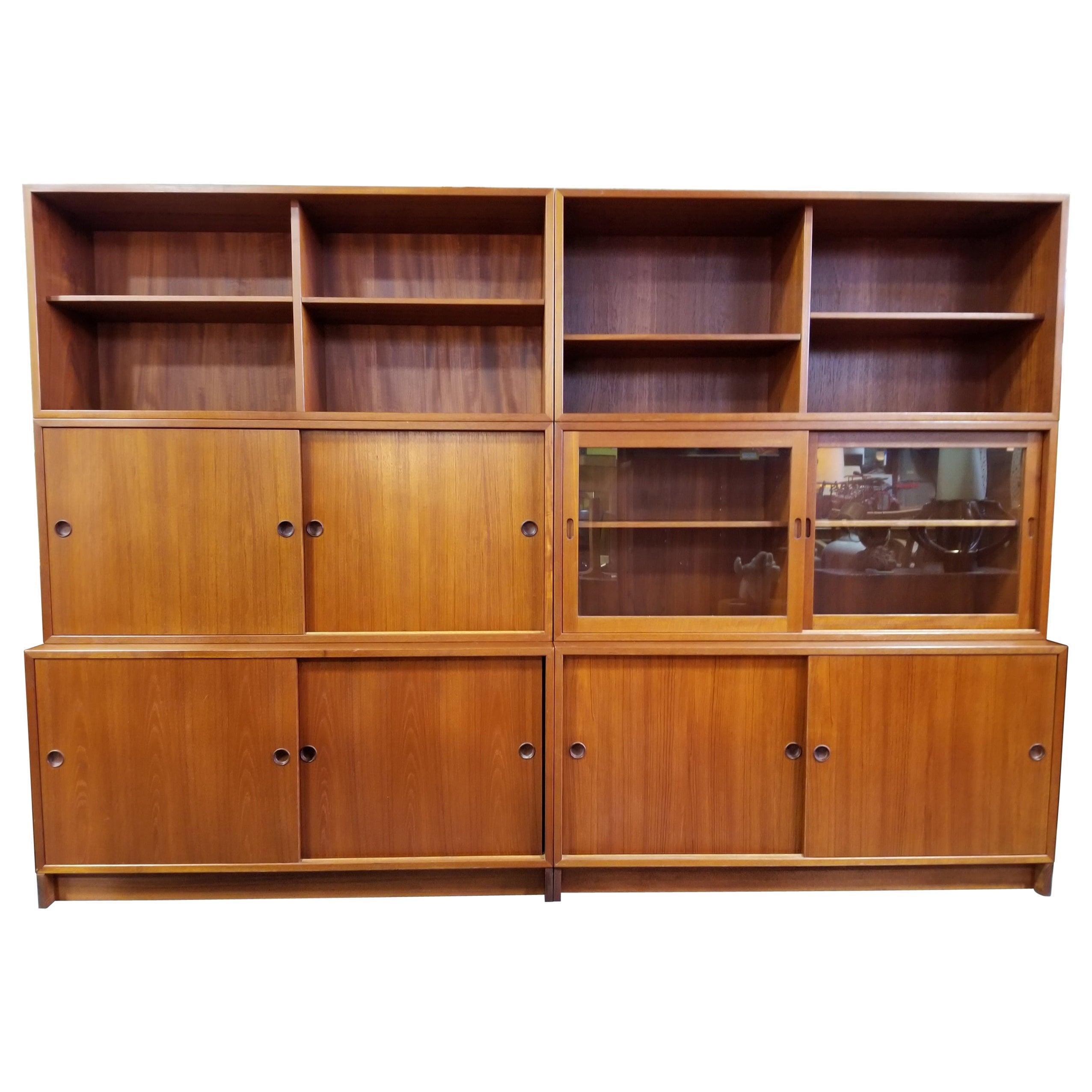 Borge Mogensen Teak Wall Unit / Bookcase