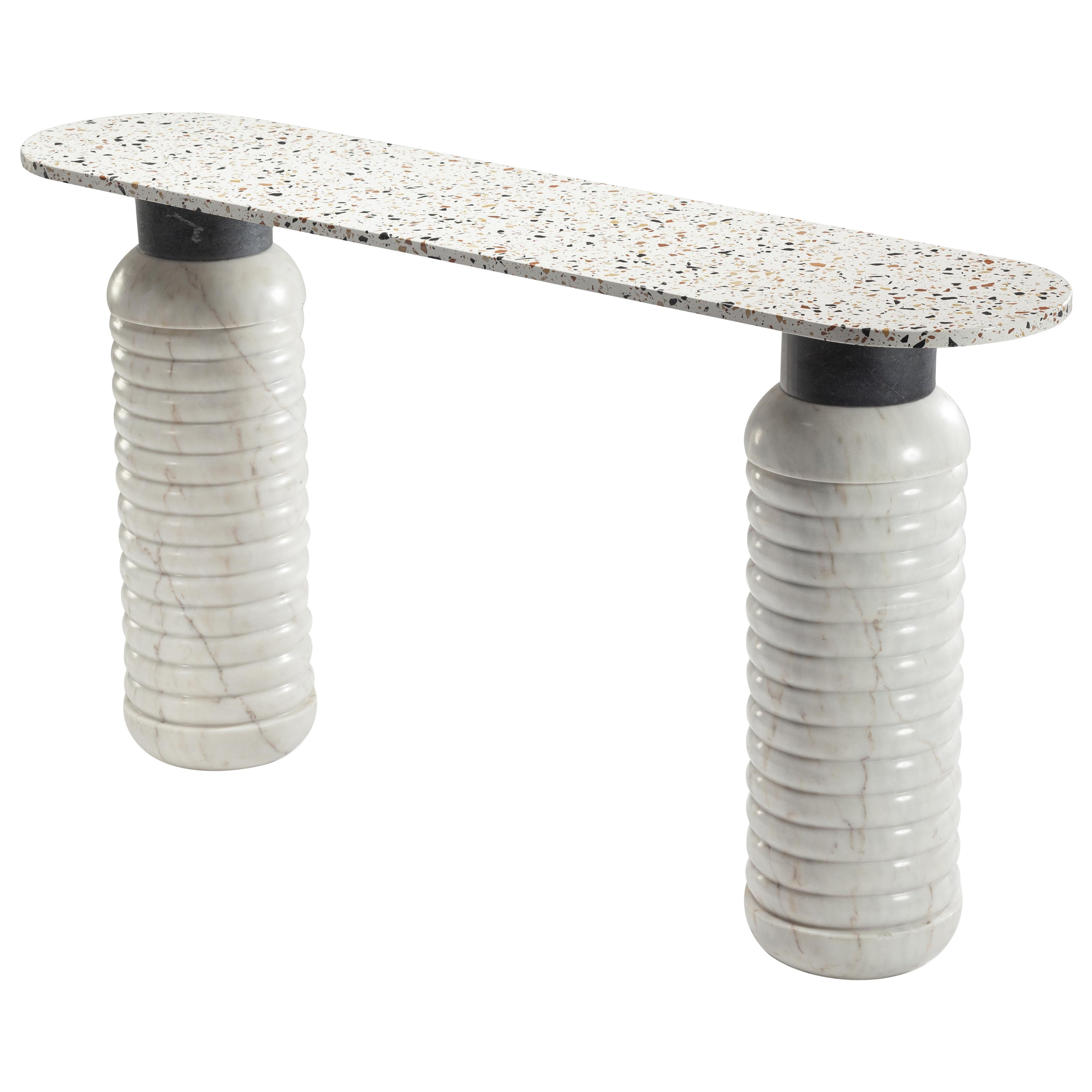 Marble Contemporary Jean Console Table