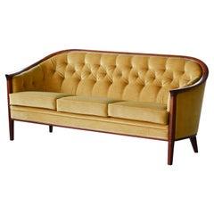 """Midcentury Sofa Model """"Aristokrat"""" by Bertil Fridhagen, Sweden, 1960s"""