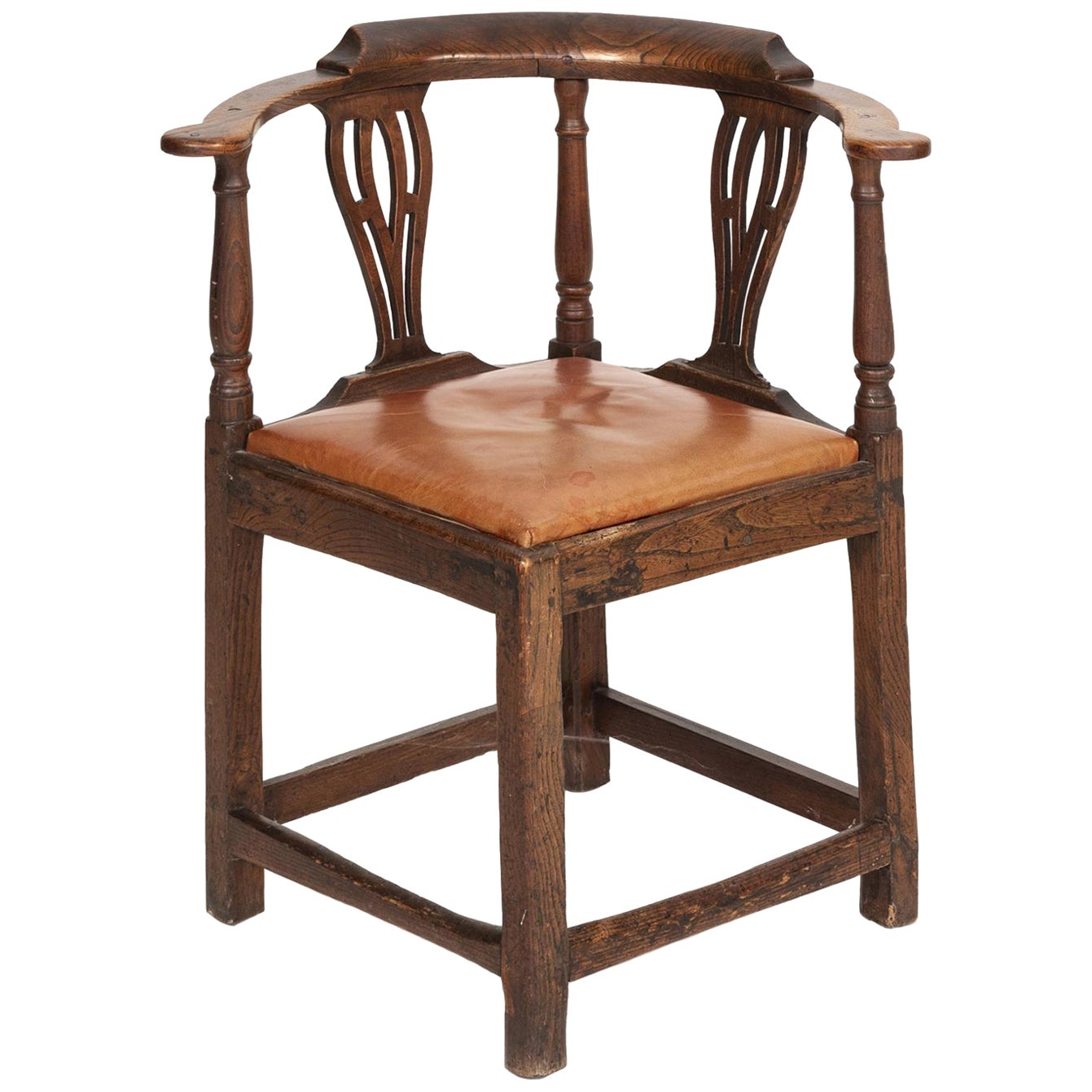 18th Century Georgian Corner Chair