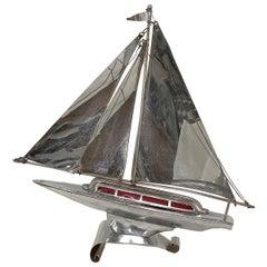 Midcentury Sailboat Table Lamp