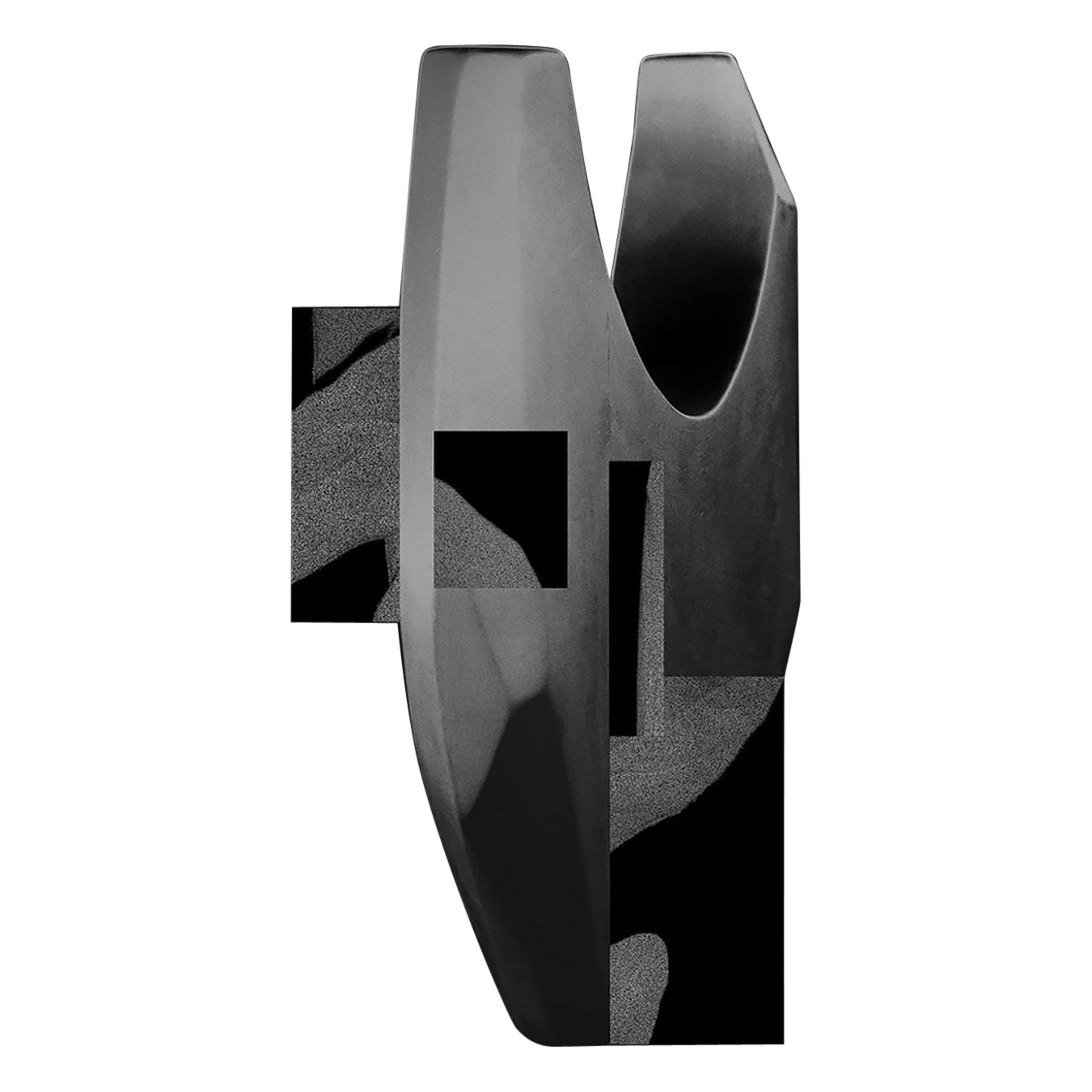 Wall Decorations by Todomuta Studio Aluminum Black and Silver