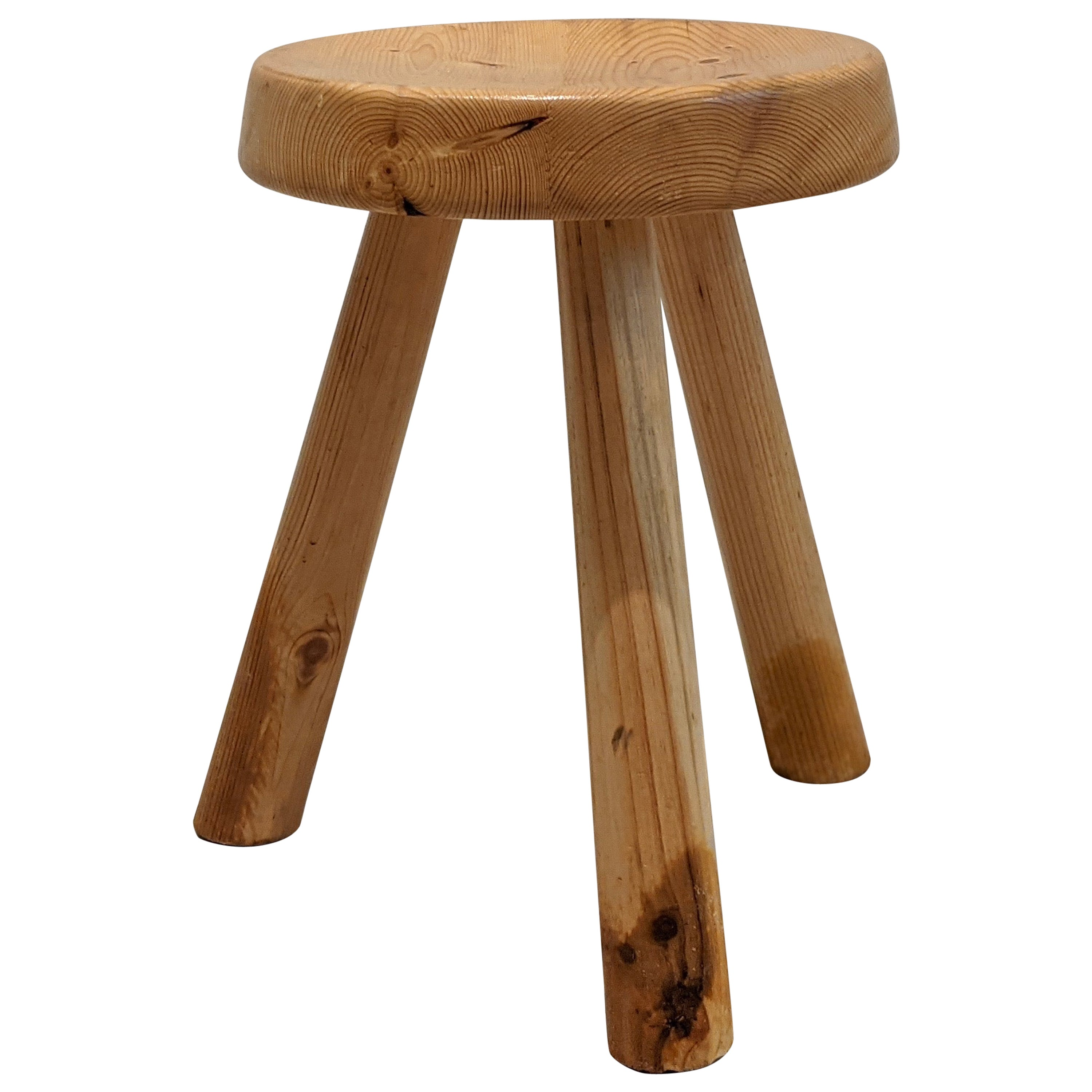 Stool by Charlotte Perriand for Les Arcs