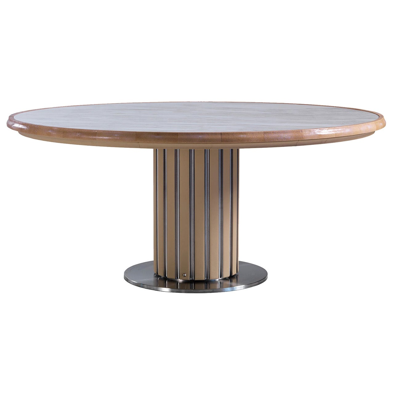 Marble Round Dining Table