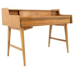 Midcentury Walnut Secretary Desk