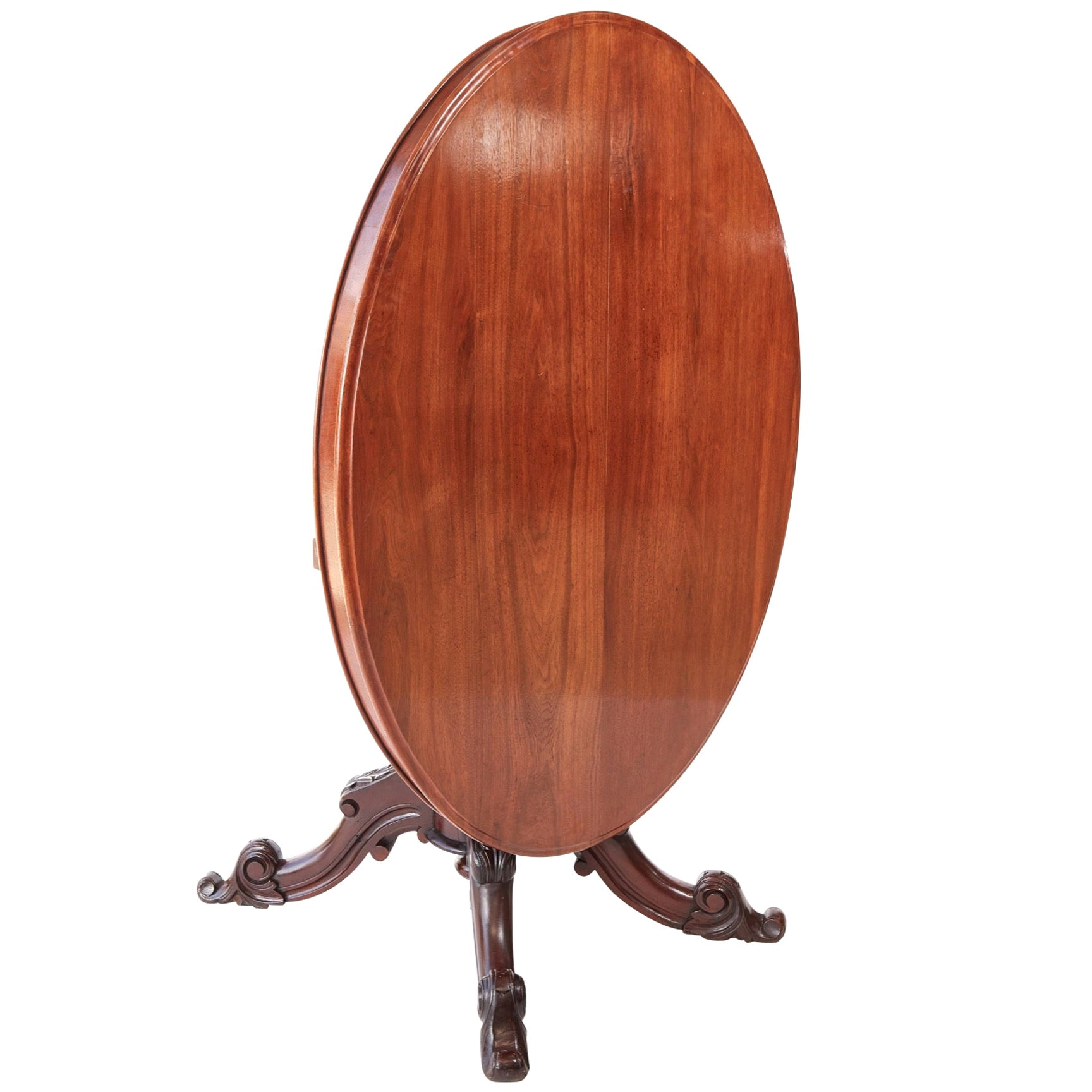Victorian Oval Mahogany Centre Table