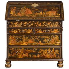 Fine and Rare Chinese Lacquered Writing Bureau