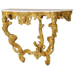 Exceptionally Fine Mid-18th Century Rococo Pier Table