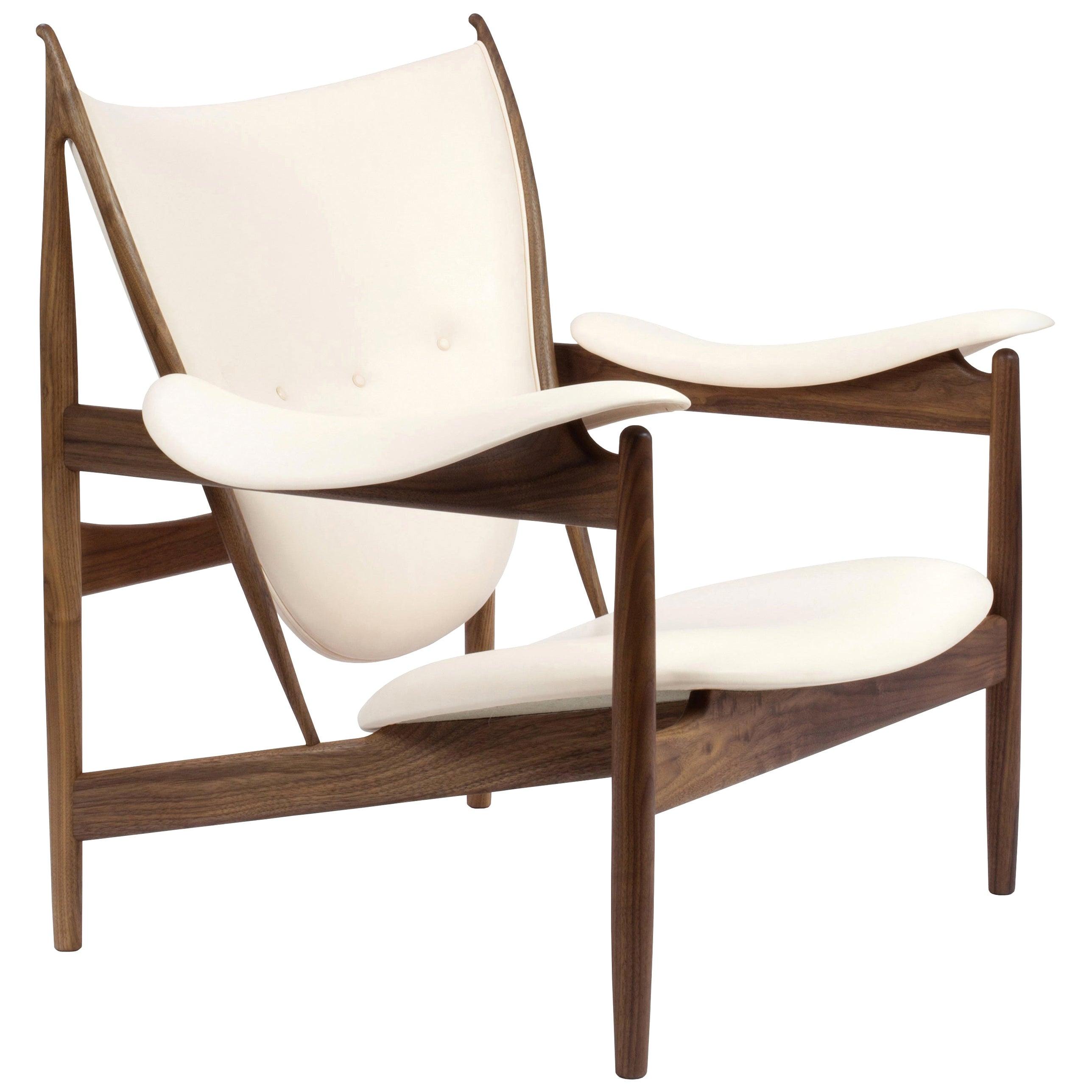 Finn Juhl Chieftain Armchair, Wood and Leather