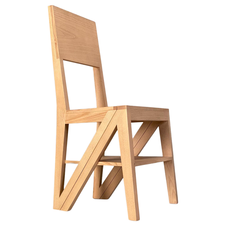 Morelato Scala, Wooden Chair Convertible in Staircase
