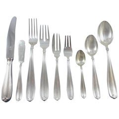 Palm Beach by Buccellati Sterling Silver Flatware Set of 8 Service 93 Pieces