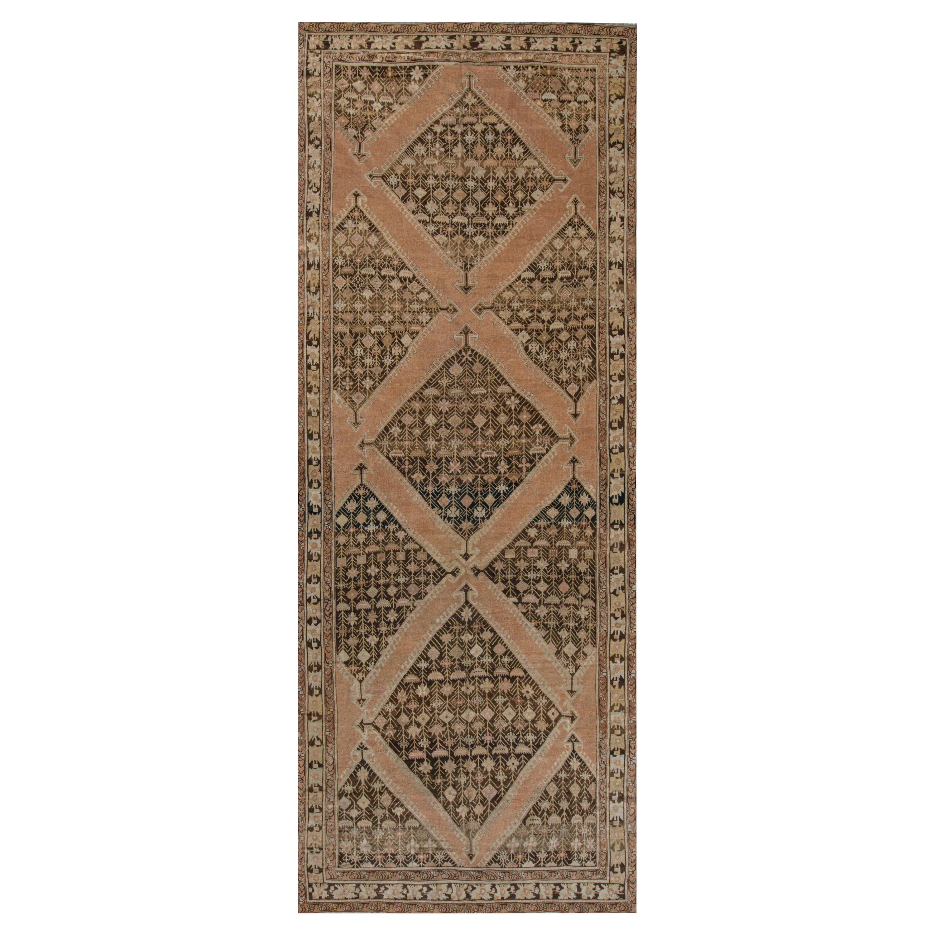 Antique Russian Karabagh Gallery Carpet