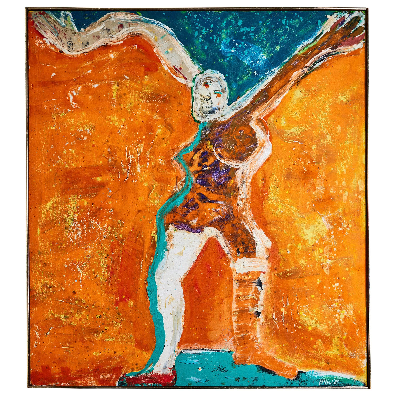 Original, 1980 Oil Painting