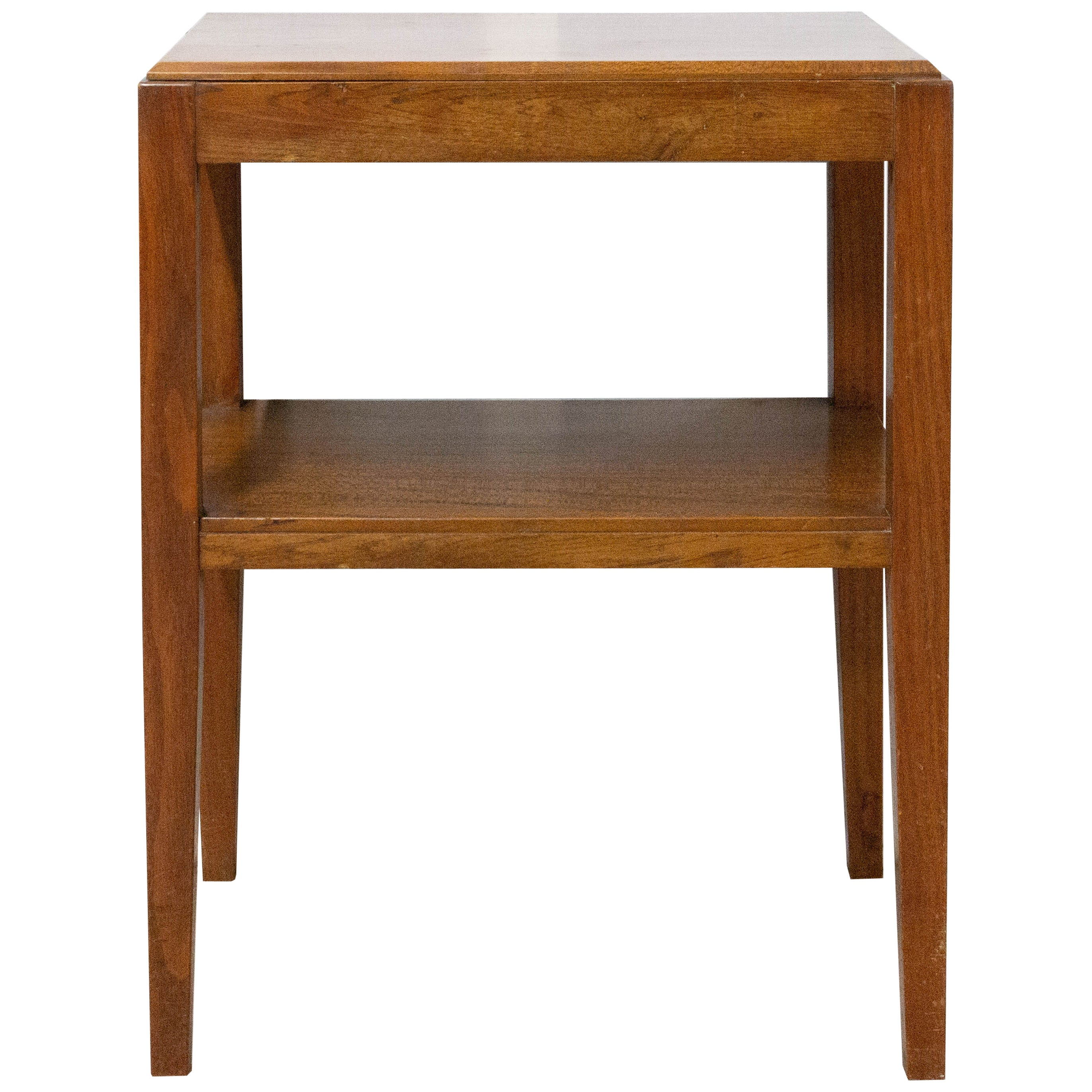 French Beech Console Table 20th Century, circa 1950