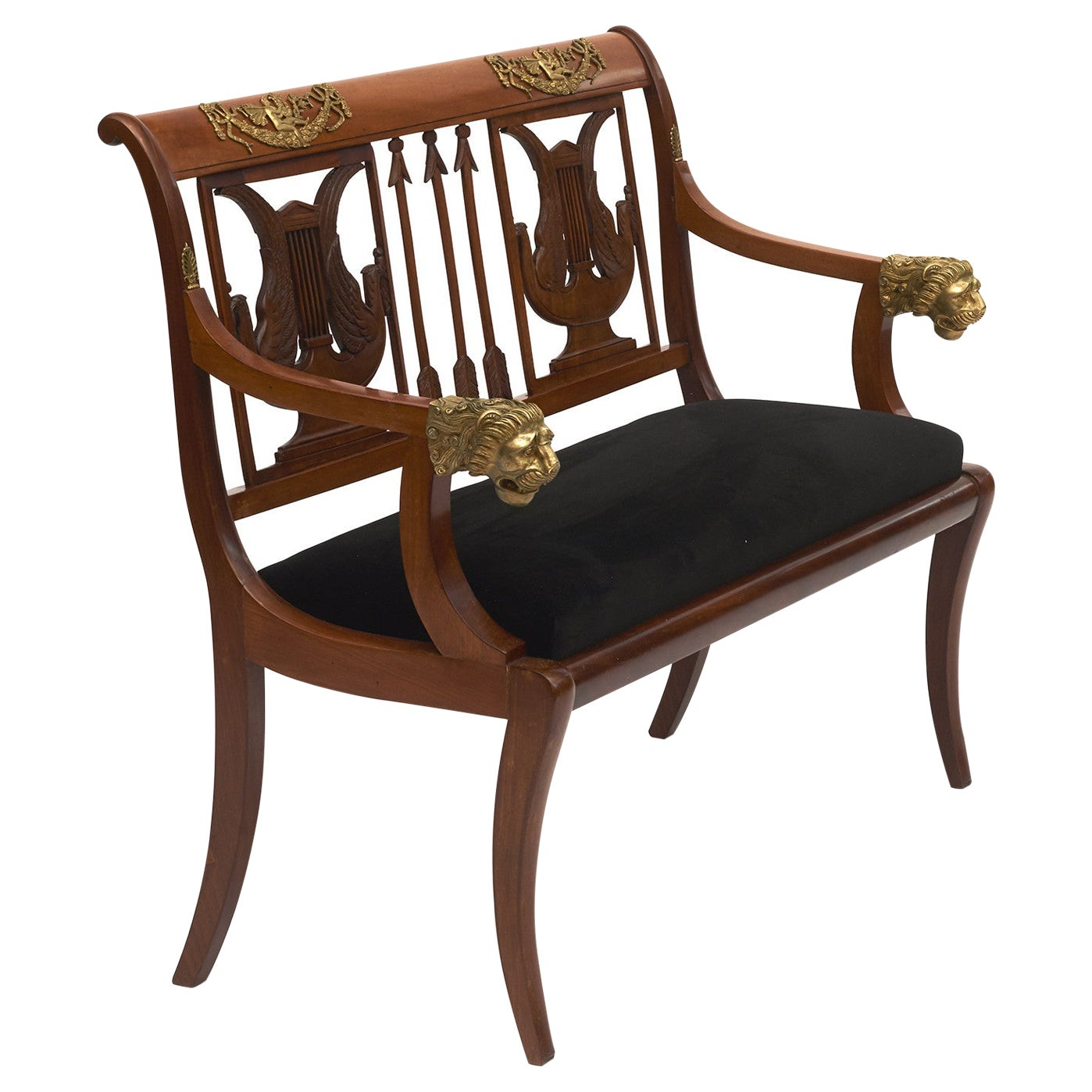 Early 19th Century Russian Empire Bench