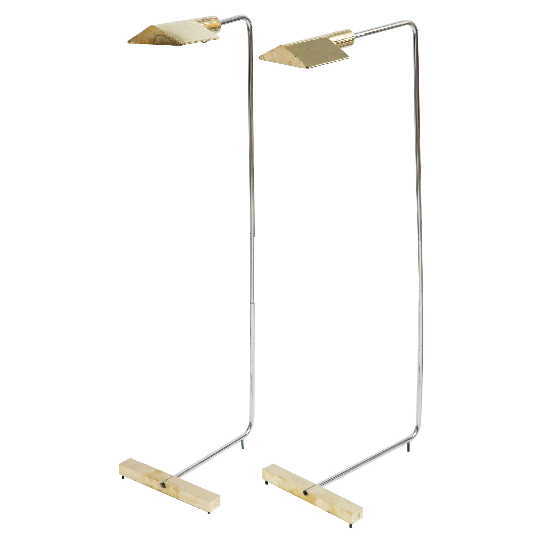 Pair of Cedric Hartman Floor Lamps