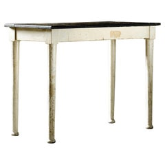 Antique Hand-Painted French Farmhouse Table