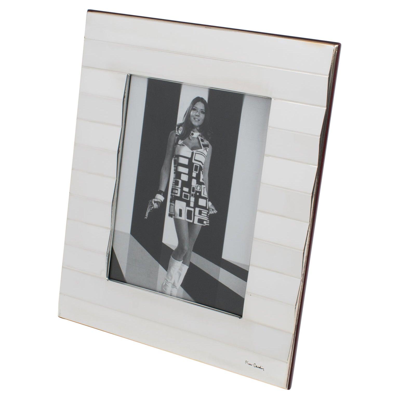 Pierre Cardin Paris Silver Plate Picture Frame