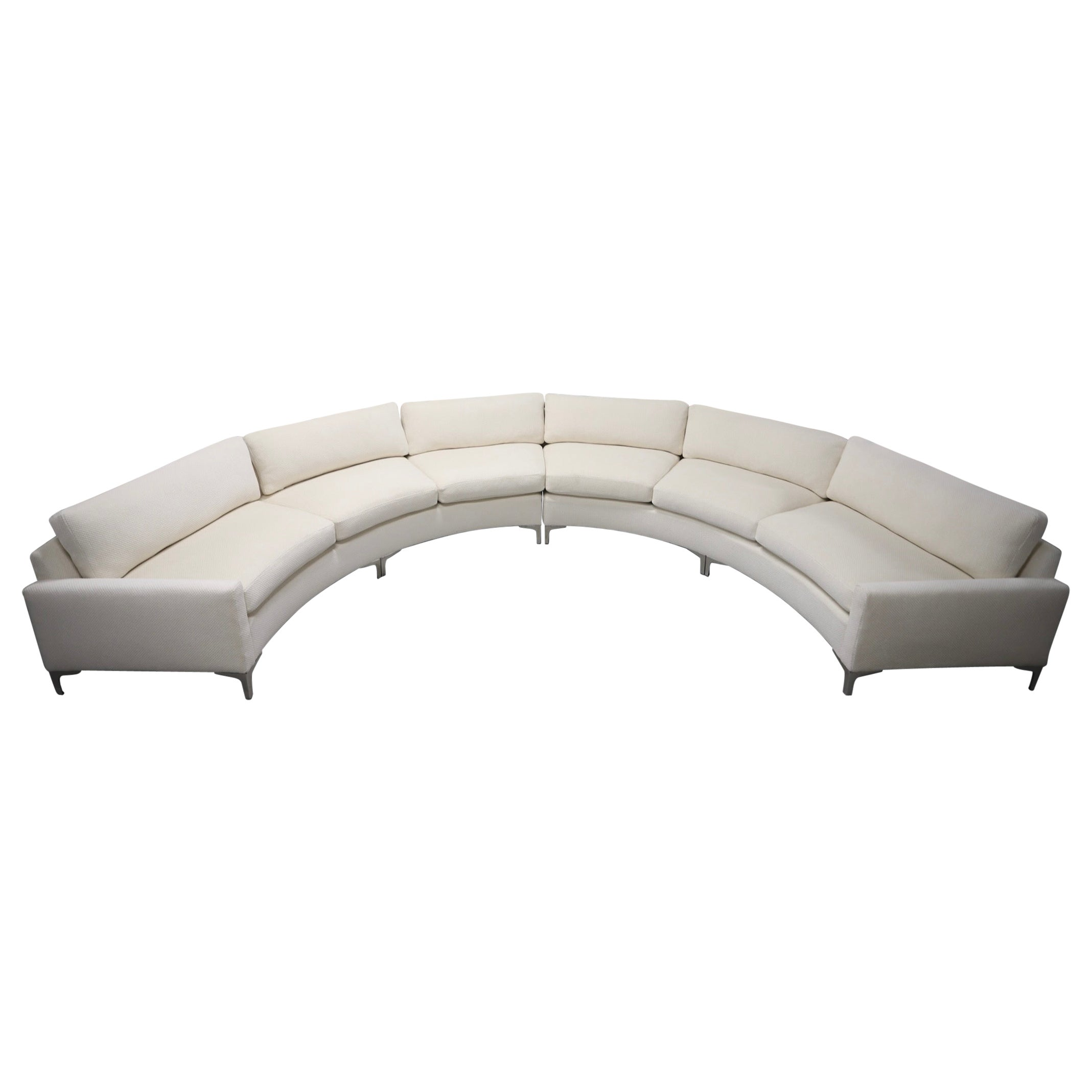 Circular Sectional C-Sofa