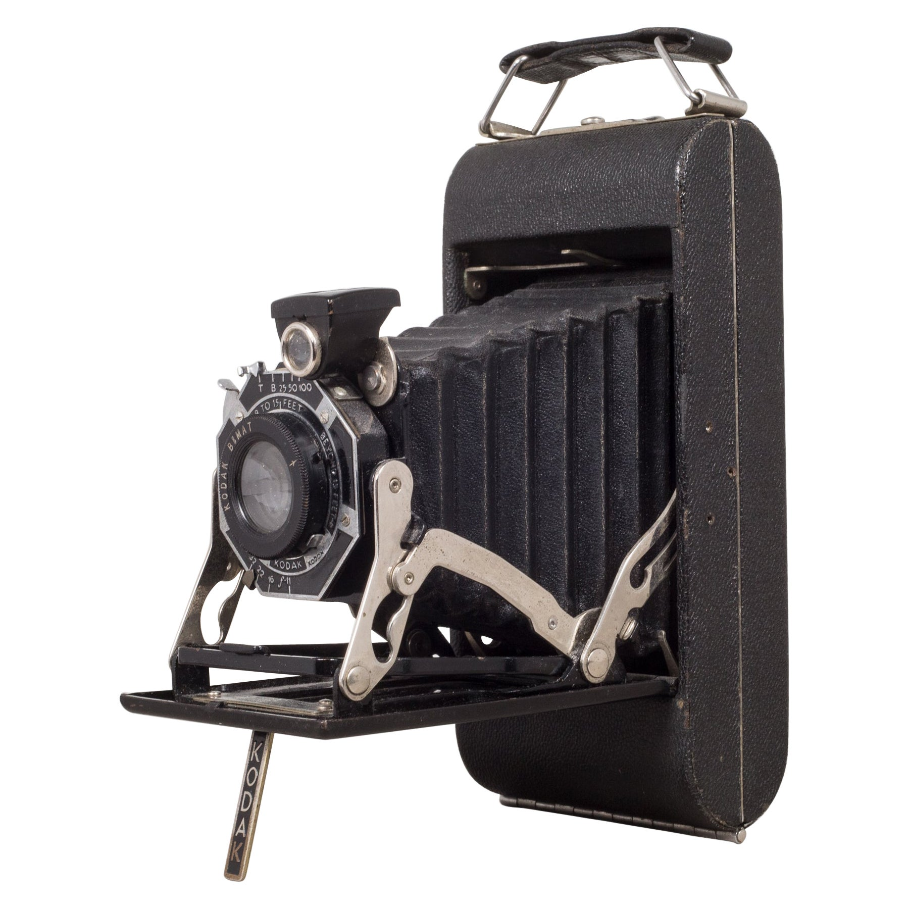 Antique Kodak Jr. Six-16 Series ll Folding Camera, circa 1937-1940