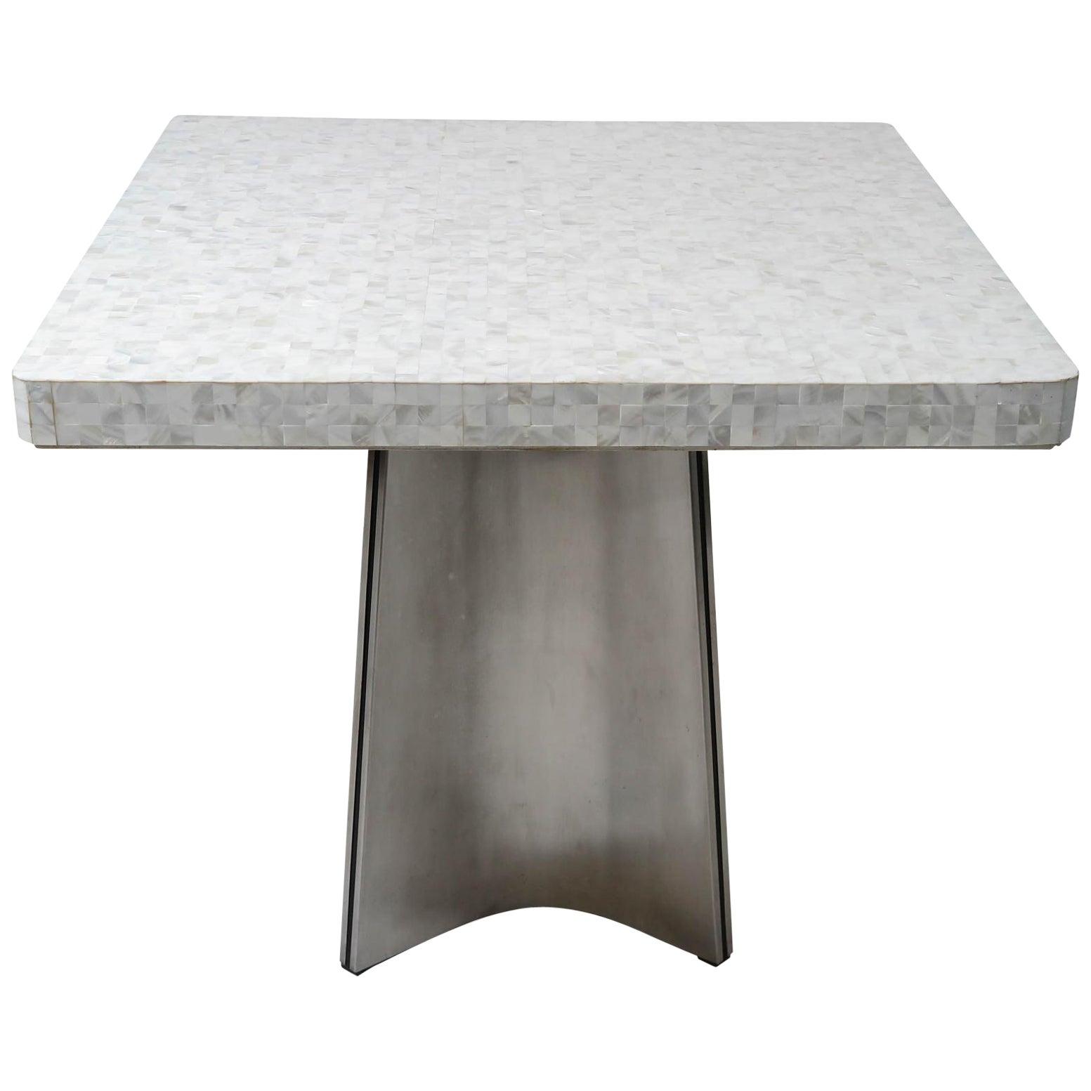 Luigi Saccardo Mother of Pearl Table