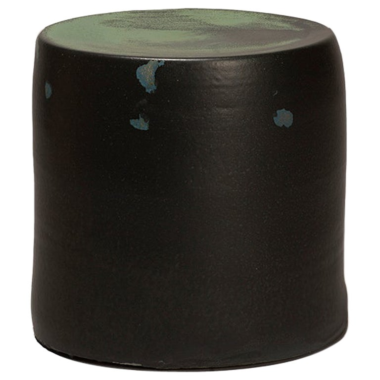 Torn Side Table LA Dark Green 639