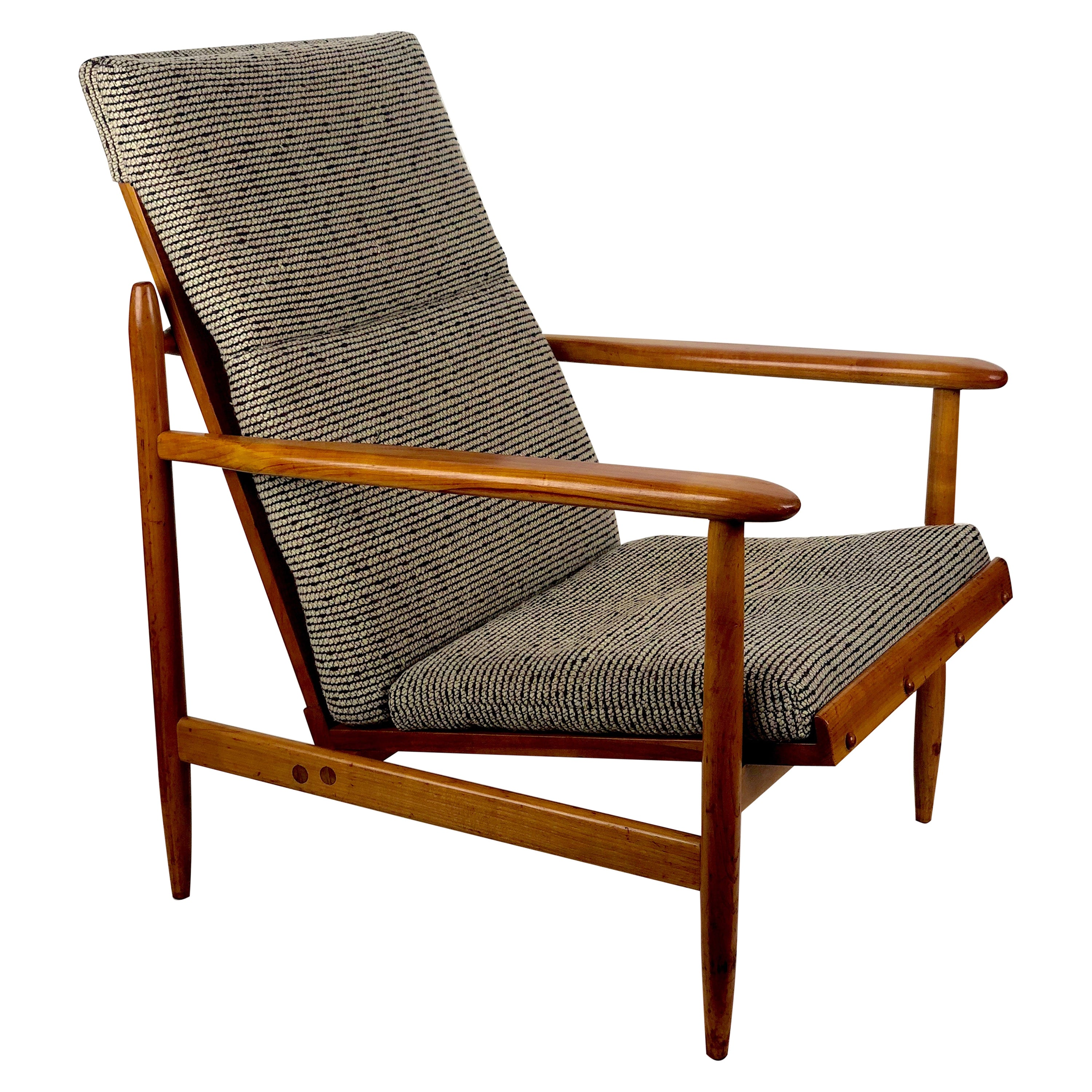 Beautiful Armchair from Uluv in Cherry, 1960