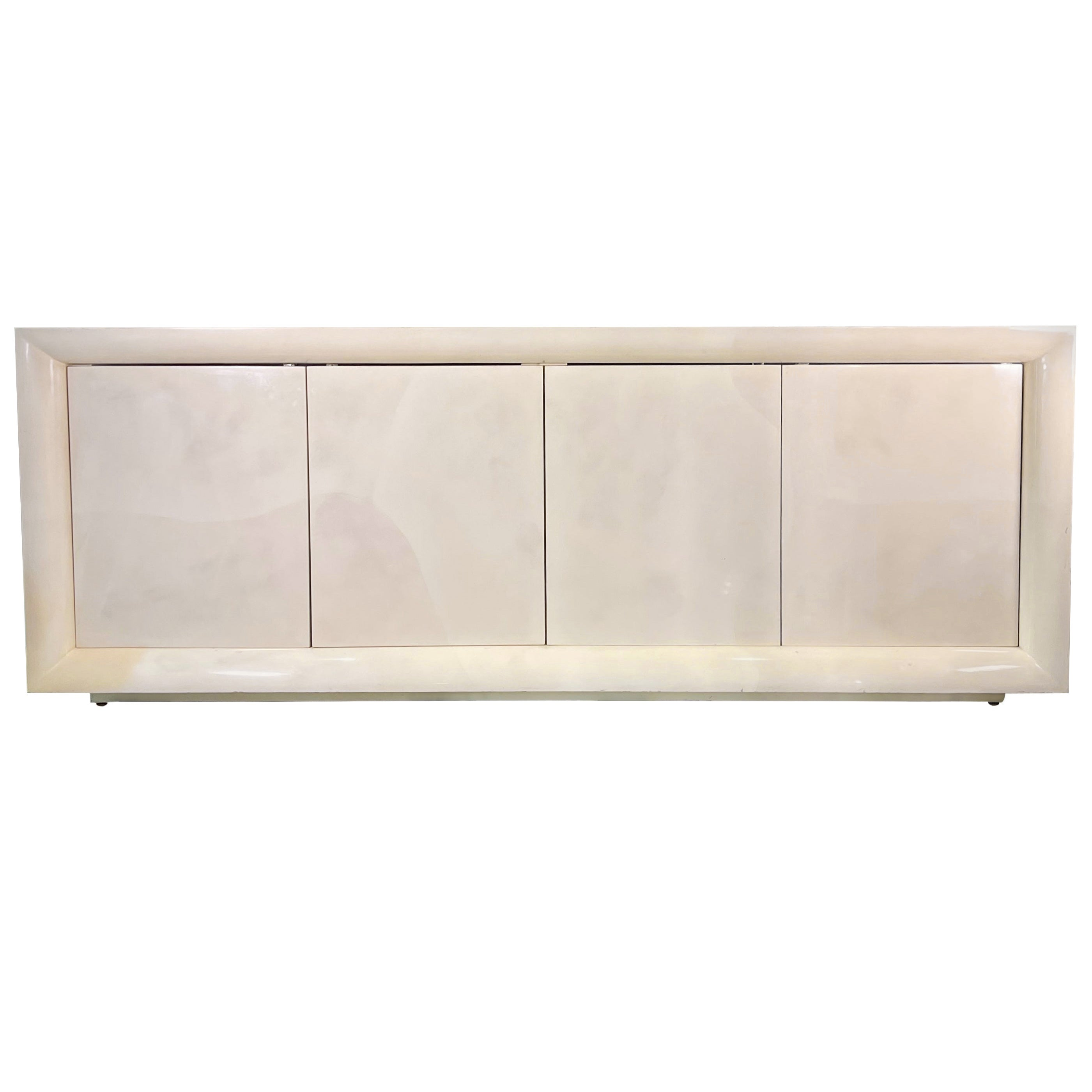 Parchment Lacquered Sideboard