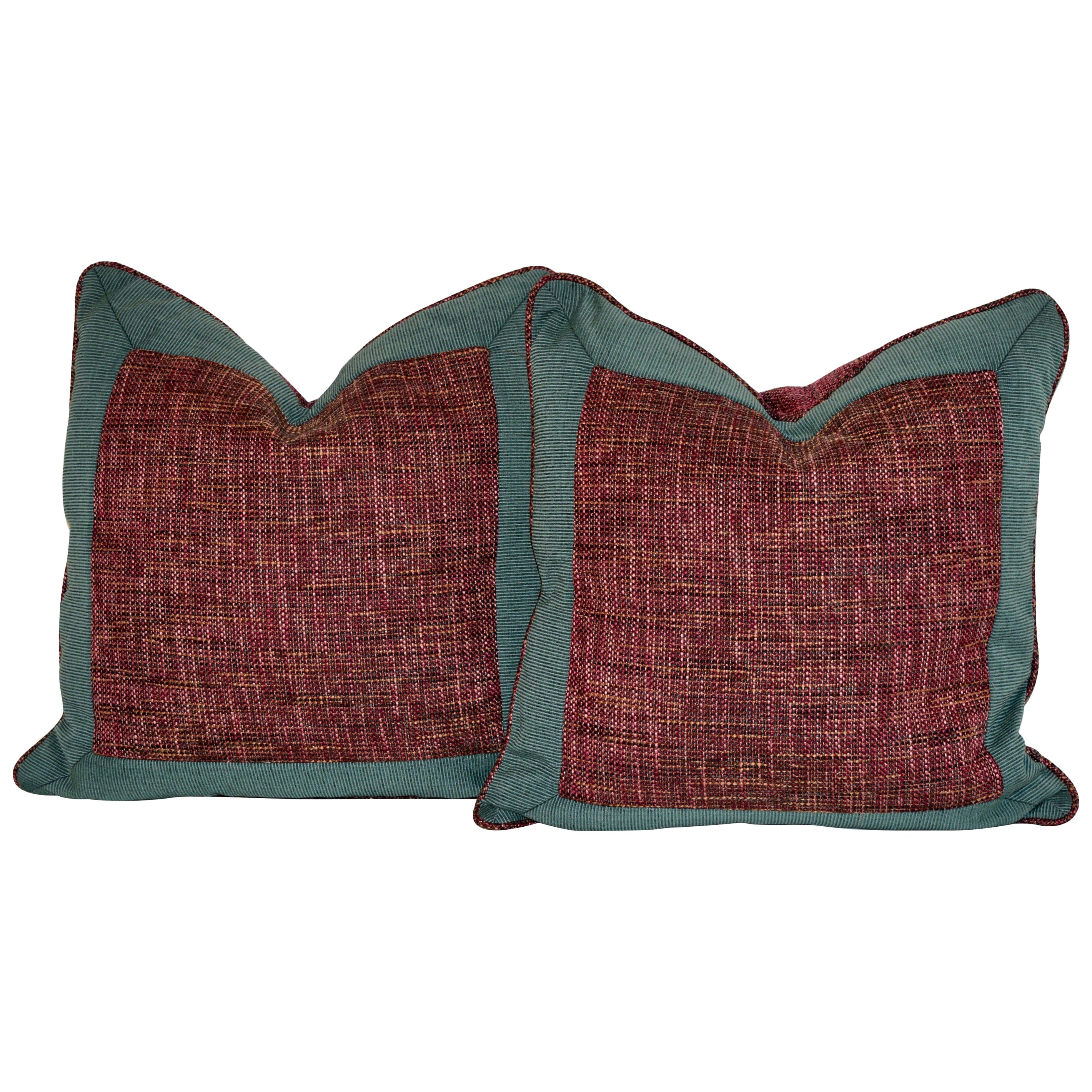 Handmade Bordered Pillows