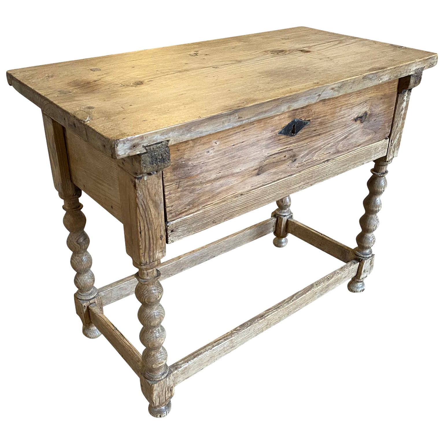 Catalan 18th Century Small Console, Side Table
