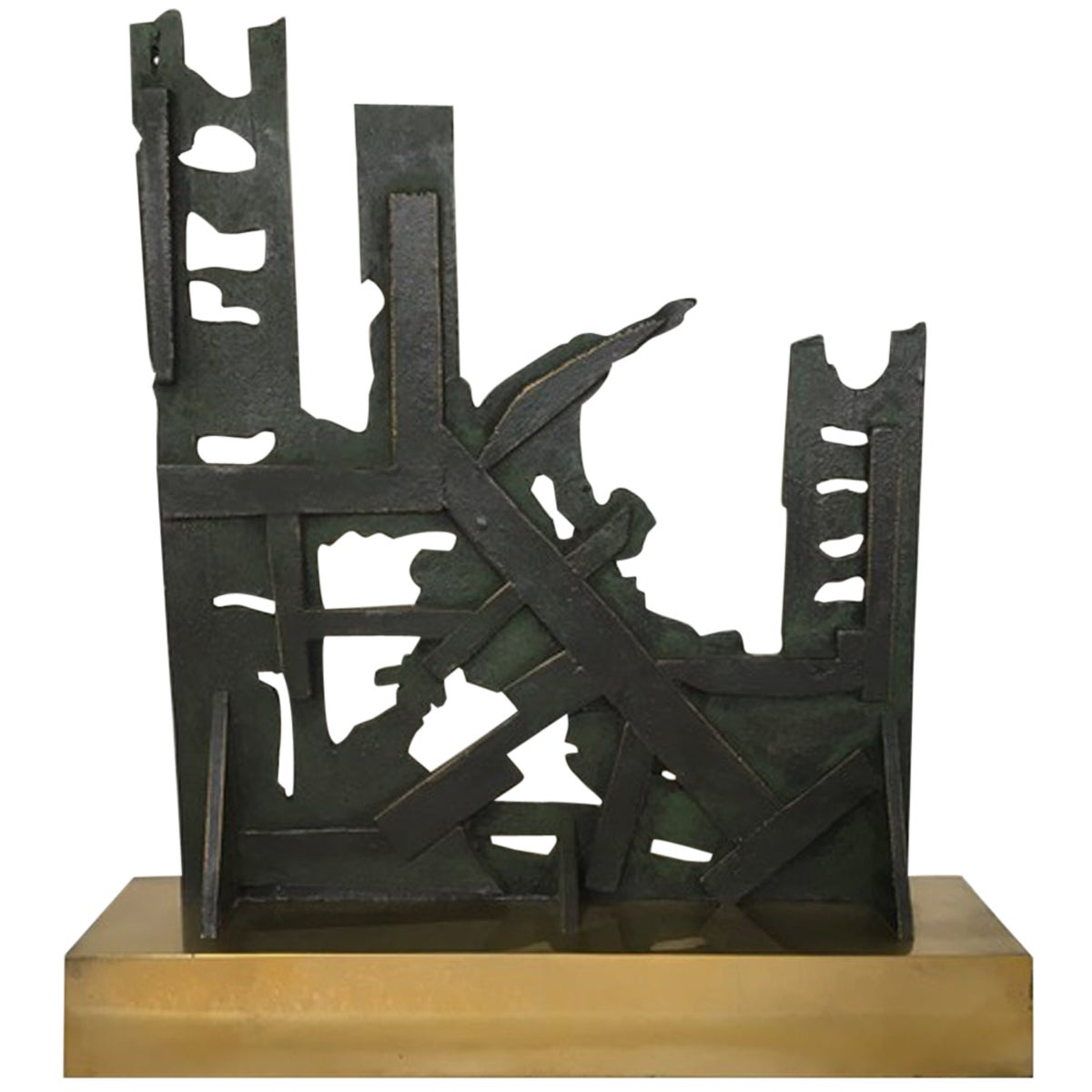 Italy 1980 Abstract Sculpture by Nevio De Luca