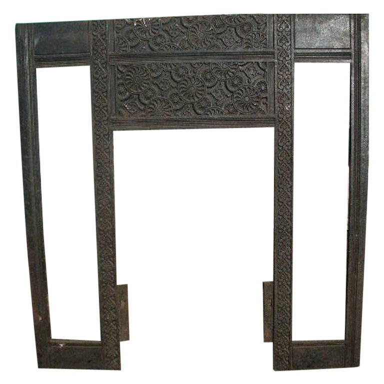 Thomas Jeckyll, Aesthetic Movement Fire Insert, Made by Barnard Bishop & Barnard For Sale