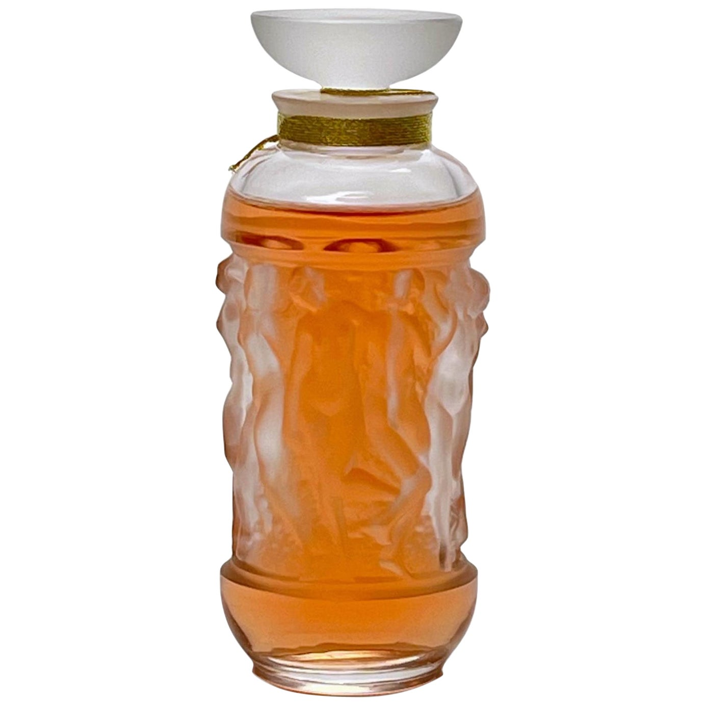 """Limited Edition """"Bacchantes"""" Perfume Bottle by Marie-Claude Lalique"""