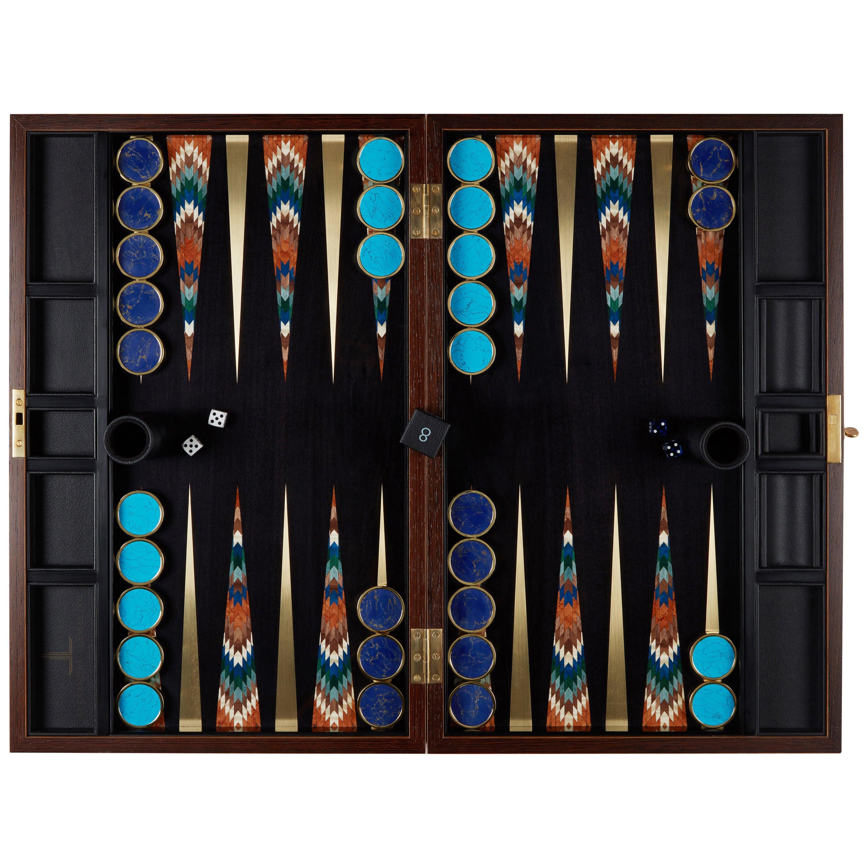 Art Deco Backgammon Board by Alexandra Llewellyn