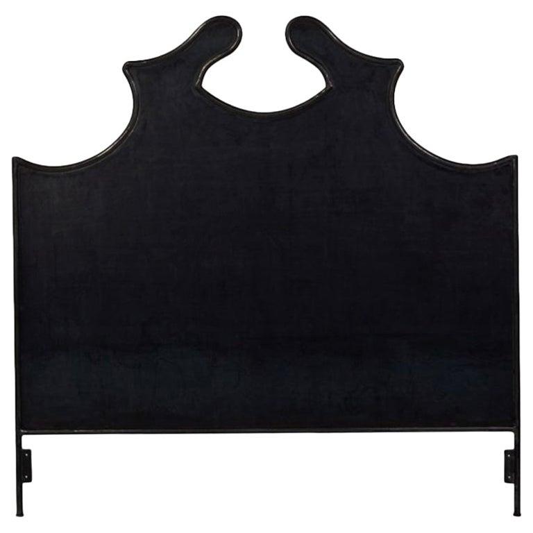 Louis XV Iron Headboard, Twin