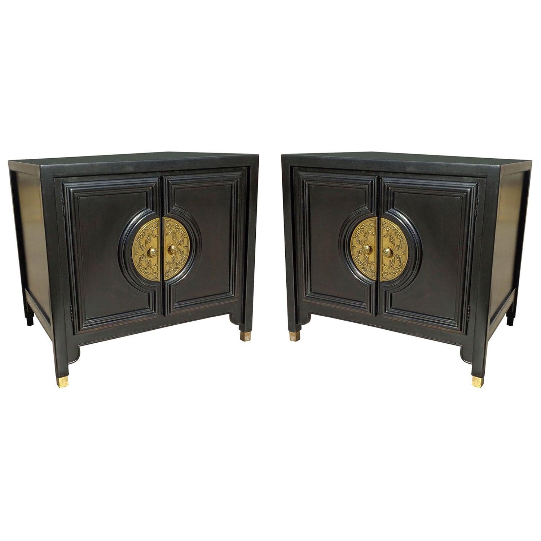 Pair of Century Furniture Chin Hua Nightstands