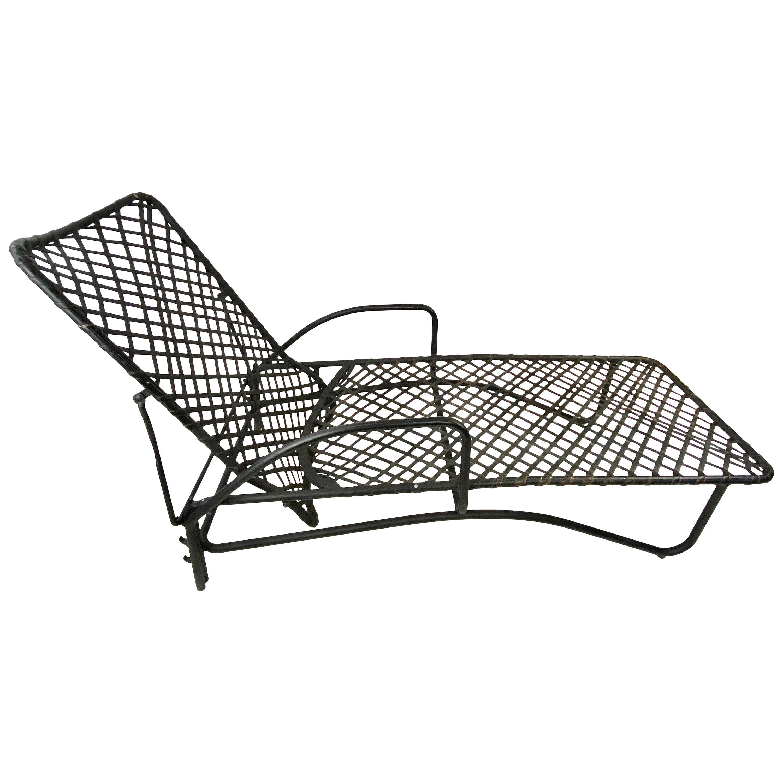 Midcentury Brown Jordan Outdoor Chaise Lounge
