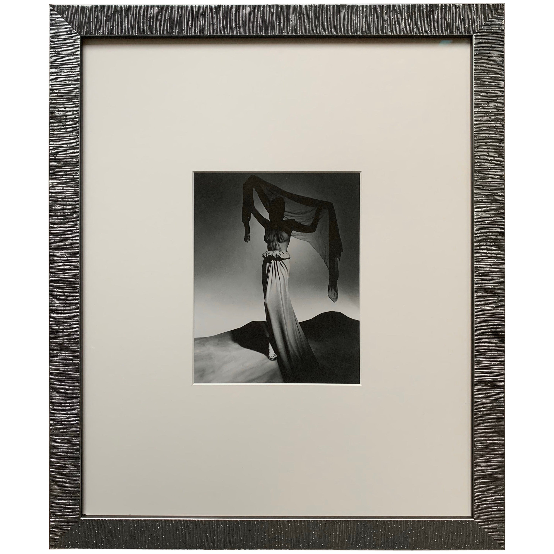 George Platt Lynes Original B&W Fashion Photograph, Metropolitan Museum Art
